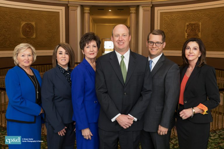 Headshots for Lt. Governor Will Ainsworth and Staff